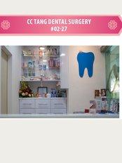 C C Tang Dental Surgery Pte Ltd - 548 WOODLANDS DRIVE 44 #02-27 VISTA POINT, SINGAPORE, 730548,