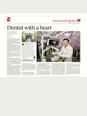 B9 Dental Centre - The Star Vista - DR RAYMOND STRAITS TIMES