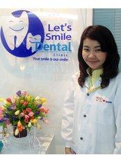 Dr Porntip Saeung -  at Let's Smile Dental Clinic