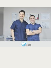 Diş 212 - Dental Aesthetic Facility - Yenidogan Mah. Abdi Ipekci Cd. No:55/A Bayrampasa, Istanbul, Turkey,
