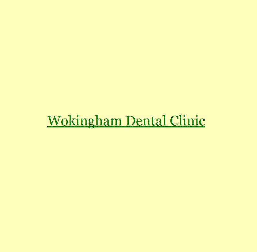 Wokingham Dental Clinic In Wokingham