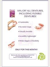 Dental Spa 25 - Online Only: 10% Off All Dentures including Flexible Dentures at Dental Spa 25