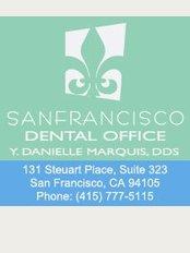 San Francisco Dental Office - 131 Steuart Place, Suite 323, San Francisco, California, 94105,
