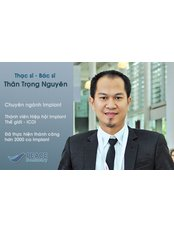 MS-DDS Than Trong Nguyen - ITI, ICOI member, implantologist, oral surgeon.  - Deputy Practice Manager at Peace Dentistry