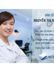 Dr.Nguyen Thi My Hanh, dentist, member of SCADA - Dentist at Peace Dentistry