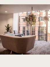 BHSF Medical Practice - Our beautiful private city centre waiting room