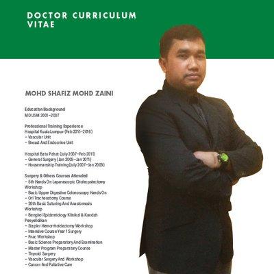 Dr Shafiz Zaini