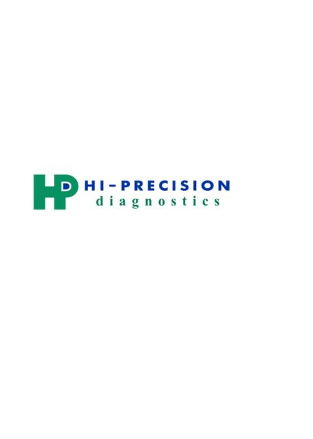 Hi-Precision Diagnostics - Taft