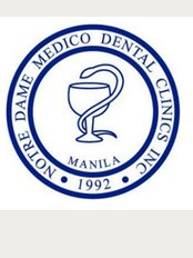 Notre Dame Medico Dental Clinics - Elena II Building 1036 J. Nakpil St.Malate, Manila,