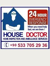 Alanya Primary Care Center - Kızlarpınarı Mahallesi Mehmet Akif Ersoy Caddesi, Sidar Apt. No:24 Alanya, Antalya, 07400,