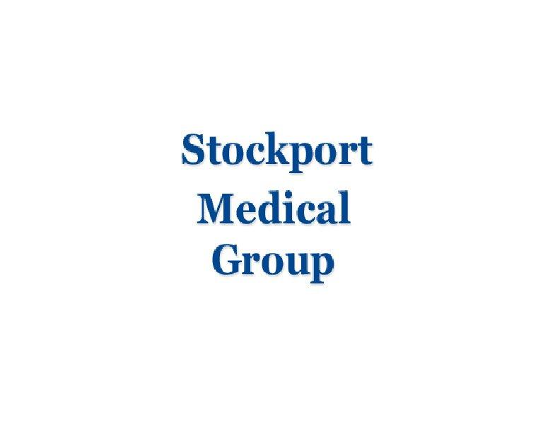 Stockport Medical Group - Delamere Practice