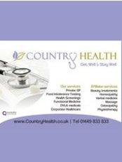 CountryHealth Ltd - Cornwallis Chambers, 23 Gt Colman Street, Ipswich, Suffolk, IP4 2AN,  0