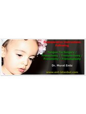 Lingual Frenectomy - Dr Murat Enoz, ENT Specialist - Private Office