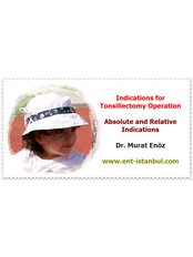 Tonsil Removal - Dr Murat Enoz, ENT Specialist - Private Office