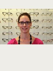 R.A. Optometrists - One of our optom's-Super Sally Stevens