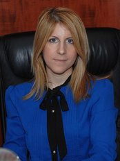 Dr Irene Georgiadis-Stefanidou - Ophthalmologist at Peace Law. Georgiades MD, PdD