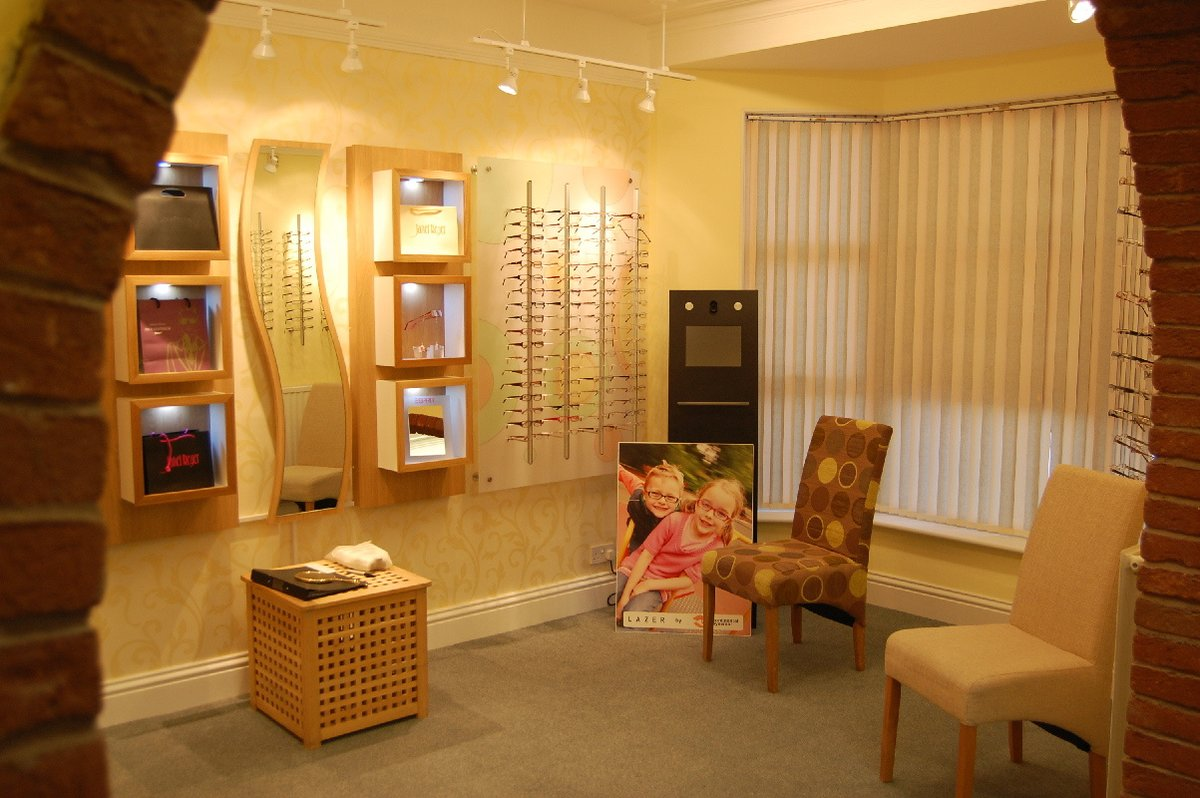 00c9bc5eb98 Penzer Opticians - Our modern and well stocked dispensing area