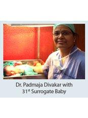 Dr Padmaja Divakar -  at Dr Padmaja Fertility Centre, Hyderabad