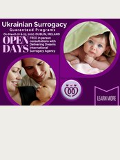 Delivering Dreams International Surrogacy - OPEN DAYS in Dublin March 2020