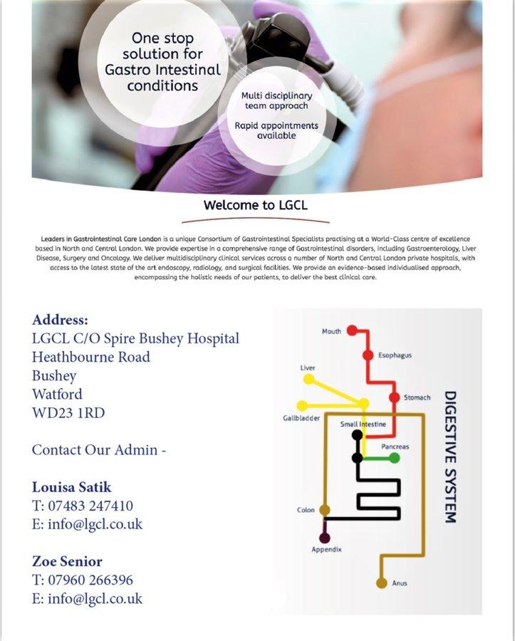 North London Digestive Health; Gastroenterology ...