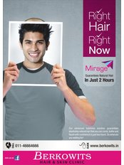 Berkowits Hair & Skin Clinic(Vikaspuri) - A-40, Vikaspuri Guru Virjanand Marg, New Delhi, Delhi, 110018,  0