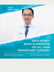 Paisit Hair Clinic - Office 1, Ground Floor, Kamol Hospital, 1223 Ladpraw 94 Intraporn Rd, Wangthonglang, 10310,