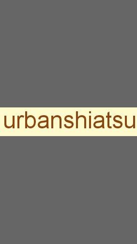 Urban shiatsu