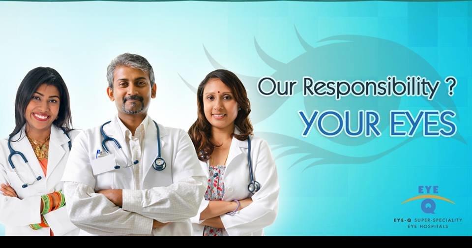 Eye-Q Super Specialty Eye Hospitals, Galleria, DLF, Gurgaon