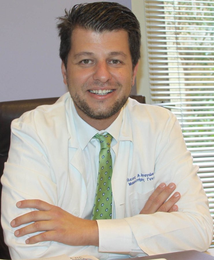 Dr Vasileios Bagiokos at Iaso Hospital