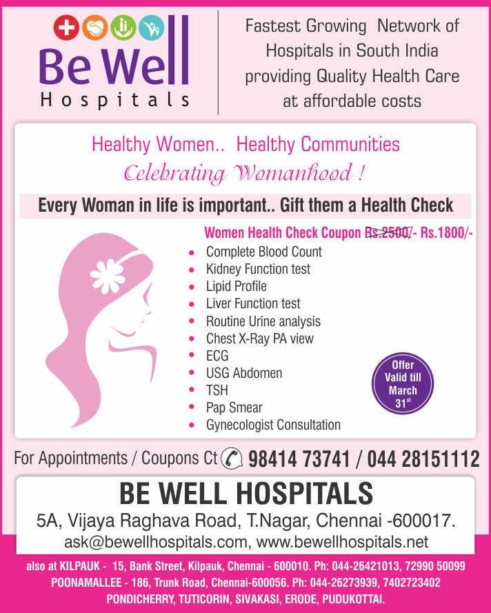 Be Well Hospitals - Kilpauk