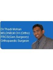 Dr Mohan Thadi - Surgeon at Orthopaedic Surgery India