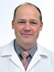 Dr. Janis Vilums -  at Orto Clinic -Physiotherapy hall in Āgenskalns