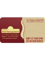 Dr Waqas Ashraf,MD - Chief Executive at Center for Pain Management