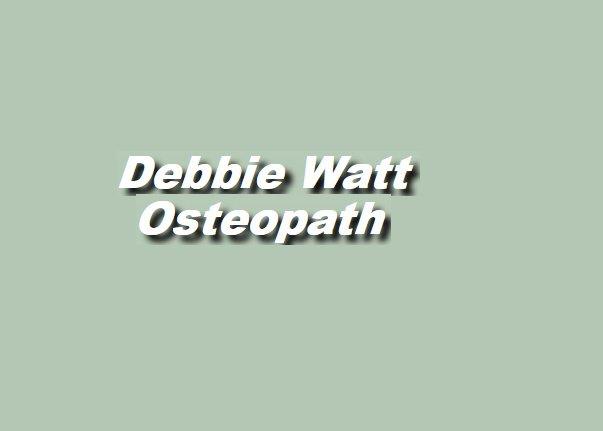 Debbie Watt - Osteopath - St Bernards Avenue