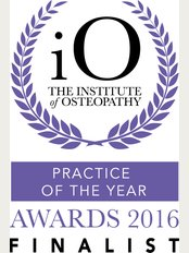 Summertown Clinic - Shortlisted for the 2016 National Osteopathic Practice of the Year