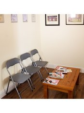 Waiting area - Cork Sports Injury Clinic