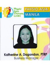 Ms Katherine A. Dagondon, PTRP - Supervisor at Physio Asia Therapy Centre - at the Fort, Manila
