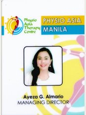 Physio Asia Therapy Centre - at the Fort, Manila - 210 McKinley Park Residences, Bonifacio Global City, Taguig City, Philippines, 1634,