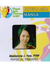 Ms Marianne J. Yee, PTRP - Physiotherapist at Physio Asia Therapy Centre - at the Fort, Manila