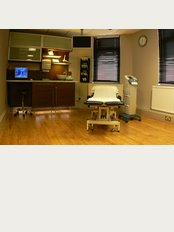 PremierPhysio - One of our private and spacious treatment rooms used for physio podiatry chiropody and sports massage