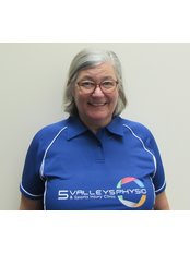Mrs Linda New - Physiotherapist at Five Valleys Physiotherapy Sports Injury Clinic