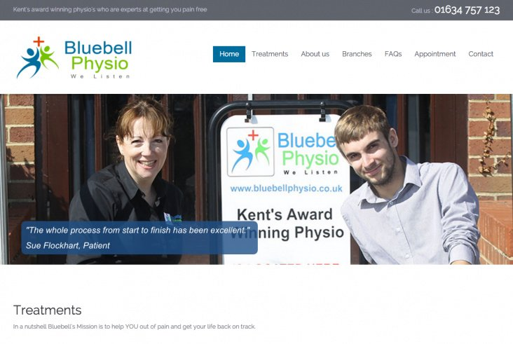 Bluebell Physiotherapy Centre - Canterbury