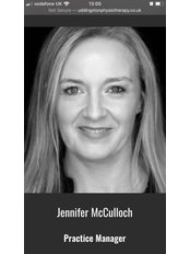 Miss Jennifer McCulloch - Administration Manager at Uddingston Physiotherapy & Rehabilitation Clinic