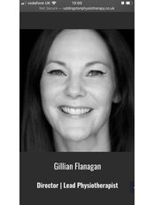Mrs Gillian Flanagan - Practice Director at Uddingston Physiotherapy & Rehabilitation Clinic