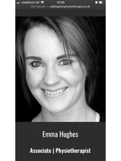 Miss Emma  Hughes - Physiotherapist at Uddingston Physiotherapy & Rehabilitation Clinic