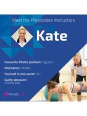 Miss Kate Hindley -  at Physiolates-St John