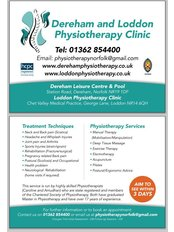 Dereham Physiotherapy  Sports Injury Clinic - image 0