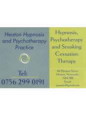 Heaton Hypnosis and Psychotherapy Practice - Heaton Hypnosis