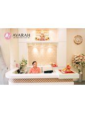 Avarah Innovation Clinic - Reception desk
