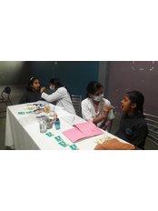 AMAR Dental Clinic - Free Dental Checkup @Shiksha Bharti Public School Gurgaon. 250 studens were checked